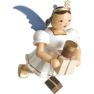 Tree ornaments Angel Ornaments Floating Angels Floating Angel Colored, Gifts - 6,6 cm / 2.6 inch