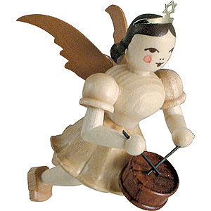 Angels Short Skirt Floating Angels (Blank) Floating Angel Drum, Natural - 6,6 cm / 2.6 inch