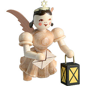 Angels Short Skirt Floating Angels (Blank) Floating Angel Guardian Angel , Natural - 6,6 cm / 2.6 inch
