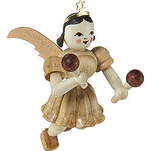 Angels Short Skirt Floating Angels (Blank) Floating Angel Maracas, Natural - 6,6 cm / 2.6 inch