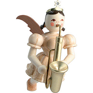Angels Short Skirt Floating Angels (Blank) Floating Angel Saxophone, Natural - 6,6 cm / 2.6 inch