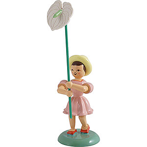Small Figures & Ornaments Flower children Flower Child Anthurium, Colored - 11,5 cm / 4.5 inch