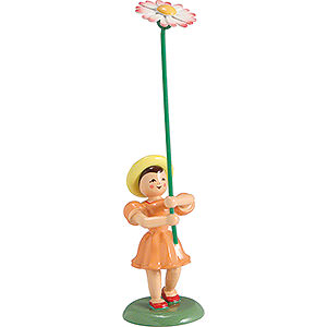 Small Figures & Ornaments Flower children Flower Child Daisy, Colored - 12 cm / 4.7 inch