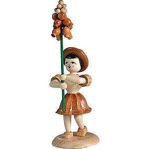 Small Figures & Ornaments Flower children Flower Child Grape Hyacnithe, Natural - 12 cm / 4.7 inch