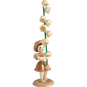 Small Figures & Ornaments Flower children Flower Child Lily of the Valley, Natural - 12 cm / 4.7 inch