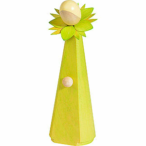 Small Figures & Ornaments everything else Flower Girl, Light Green - 11 cm / 4.1 inch