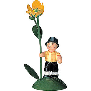 Small Figures & Ornaments Flower children Flowerchild Boy - 6 cm / 2 inch