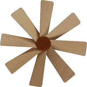 Weihnachtspyramiden Zubehör & Kerzen Flügelrad für Weihnachtspyramide - Durchmesser = 10 cm