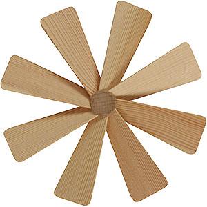 Weihnachtspyramiden Zubehör & Kerzen Flügelrad für Weihnachtspyramide - Durchmesser = 13 cm