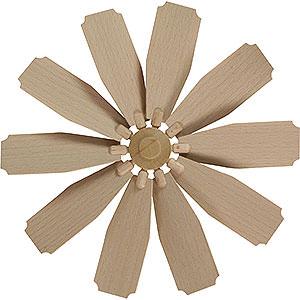 Weihnachtspyramiden Zubehör & Kerzen Flügelrad für Weihnachtspyramide - Durchmesser = 25 cm