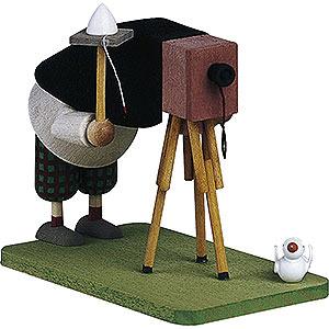 Kleine Figuren & Miniaturen Günter Reichel Figuren vom Lande Fotograf - 7 cm