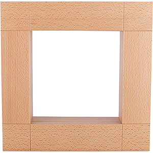Smokers Shelf Sitters by KWO Frame for Shelf Sitter - Natural - 33x33 cm / 13x13 inch