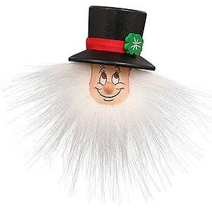 Gift Ideas Lucky Charm Fridge Magnet - Gnome Chimney Sweep - 9 cm / 3.5 inch
