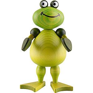 Kleine Figuren & Miniaturen Martin Tierfiguren Frosch Freddy I. - 11 cm