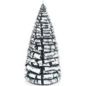 Small Figures & Ornaments Decorative Trees Frosted Tree - Green-White - 14 cm / 5.5 inch