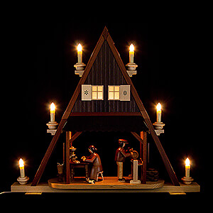 World of Light Light Triangles Gable Triangle - Toy Maker - 59x65 cm / 23.2x25.6 inch - 120V