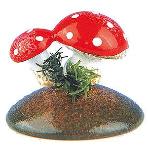 Kleine Figuren & Miniaturen Hubrig Blumenkinder Glückspilze - 6er Set - 2 cm