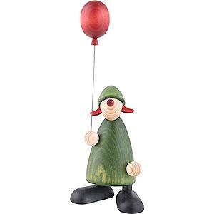 Kleine Figuren & Miniaturen Björn Köhler Gratulanten Gratulantin Lina mit Luftballon - 17 cm