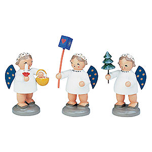 Angels Other Angels Group of Angels - 3 pcs. - 5 cm / 12 inch