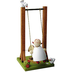 Angels Reichel Guardian Angels Guardian Angel on Swing - 3,5 cm / 1.3 inch