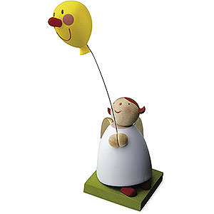 Angels Reichel Guardian Angels Guardian Angel with Balloon with Face - 3,5 cm / 1.3 inch
