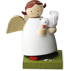 Angels Reichel Guardian Angels Guardian Angel with Bird - 3,5 cm / 1.3 inch