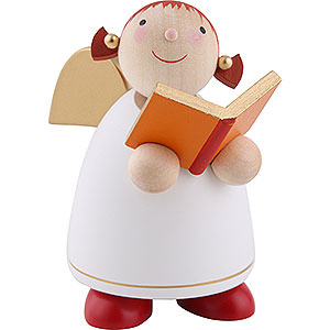 Angels Reichel Guardian Angels medium Guardian Angel with Book, White - 8 cm / 3.1 inch