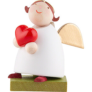 Angels Reichel Guardian Angels Guardian Angel with Heart - 3,5 cm / 1.3 inch