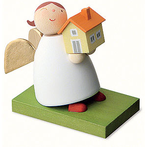 Angels Reichel Guardian Angels Guardian Angel with House - 3,5 cm / 1.3 inch