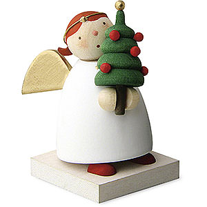 Angels Reichel Guardian Angels Guardian Angel with Little Christmas Tree - 3,5 cm / 1.3 inch