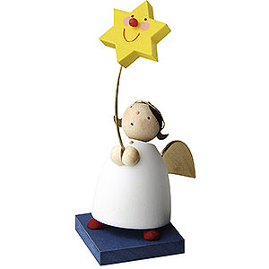 Angels Reichel Guardian Angels Guardian Angel with Star on Stick - 3,5 cm / 1.3 inch