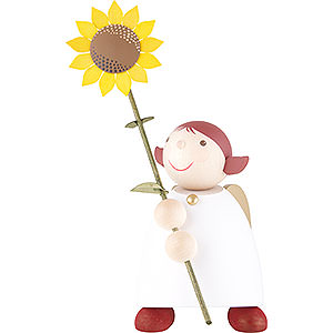 Angels Reichel Guardian Angels large Guardian Angel with Sunflower - 26 cm / 10.3 inch
