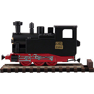 Smokers Misc. Smokers HUSS I K Scent Train Black- 10,5 cm / 2 inch