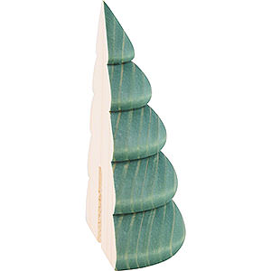 Kleine Figuren & Miniaturen Björn Köhler Dekoration Halber Baum für Wandrahmen grün - 9,5 cm