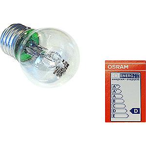 Adventssterne und Weihnachtssterne Zubehör Halogenlampe E27, 30 W