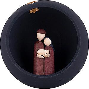 Small Figures & Ornaments Tröger Hand Nativity Hand Nativity - blue - 9 cm / 3.5 inch