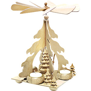Christmas-Pyramids 1-tier Pyramids Handicraft Set - 1-Tier Pyramid - Fir Tree - 26 cm / 10.2 inch
