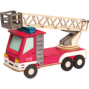 Smokers Smoking Vehicles Handicraft Set - Smoker - Fire Engine - 15 cm / 5.9 inch