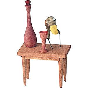 Kleine Figuren & Miniaturen Märchenfiguren Wilhelm Busch (KWO) Hans Huckebein - 7 cm