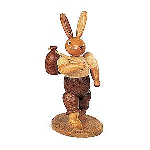 Kleine Figuren & Miniaturen Tiere Hasen Hase Wandersmann - 11 cm