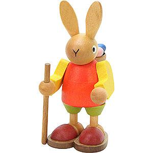 Kleine Figuren & Miniaturen Tiere Hasen Hase mit Buckelkorb - 9,0 cm