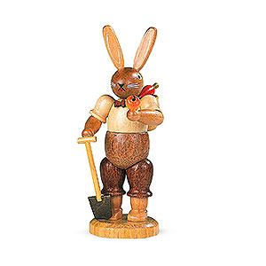 Kleine Figuren & Miniaturen Tiere Hasen Hasengärtner - 11 cm