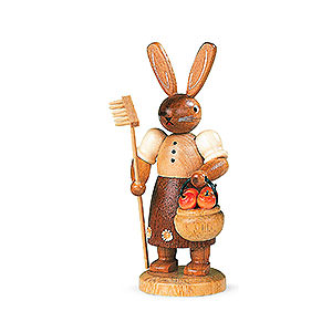 Kleine Figuren & Miniaturen Tiere Hasen Hasengärtnerin - 11 cm