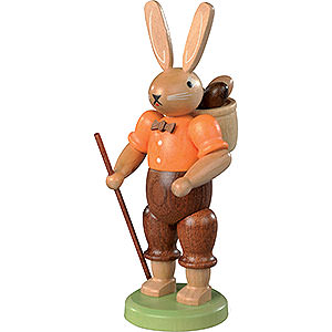 Kleine Figuren & Miniaturen Tiere Hasen Hasenmann farbig - 11 cm