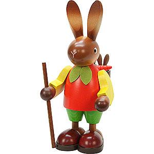 Kleine Figuren & Miniaturen Tiere Hasen Hasenmann mit Kindern - 22,0 cm