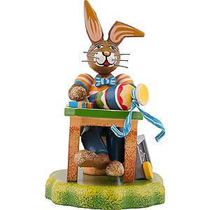 Kleine Figuren & Miniaturen Hubrig Hasenland Hasenschule Felix' erster Schultag - 8 cm