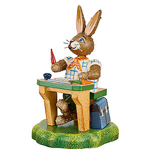 Kleine Figuren & Miniaturen Hubrig Hasenland Hasenschule Unser schlauer Fritz - 8 cm