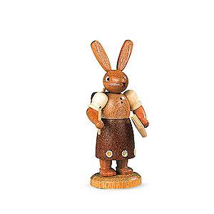 Kleine Figuren & Miniaturen Tiere Hasen Hasenschulmädchen - 11 cm