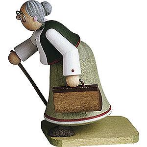 Kleine Figuren & Miniaturen Günter Reichel Figuren vom Lande Hebamme - 7 cm