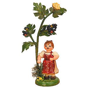Kleine Figuren & Miniaturen Hubrig Herbstkinder Herbstkind - Holunder - 13 cm